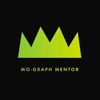 MoGraph Mentor (@MoGraphMentor) Twitter profile photo