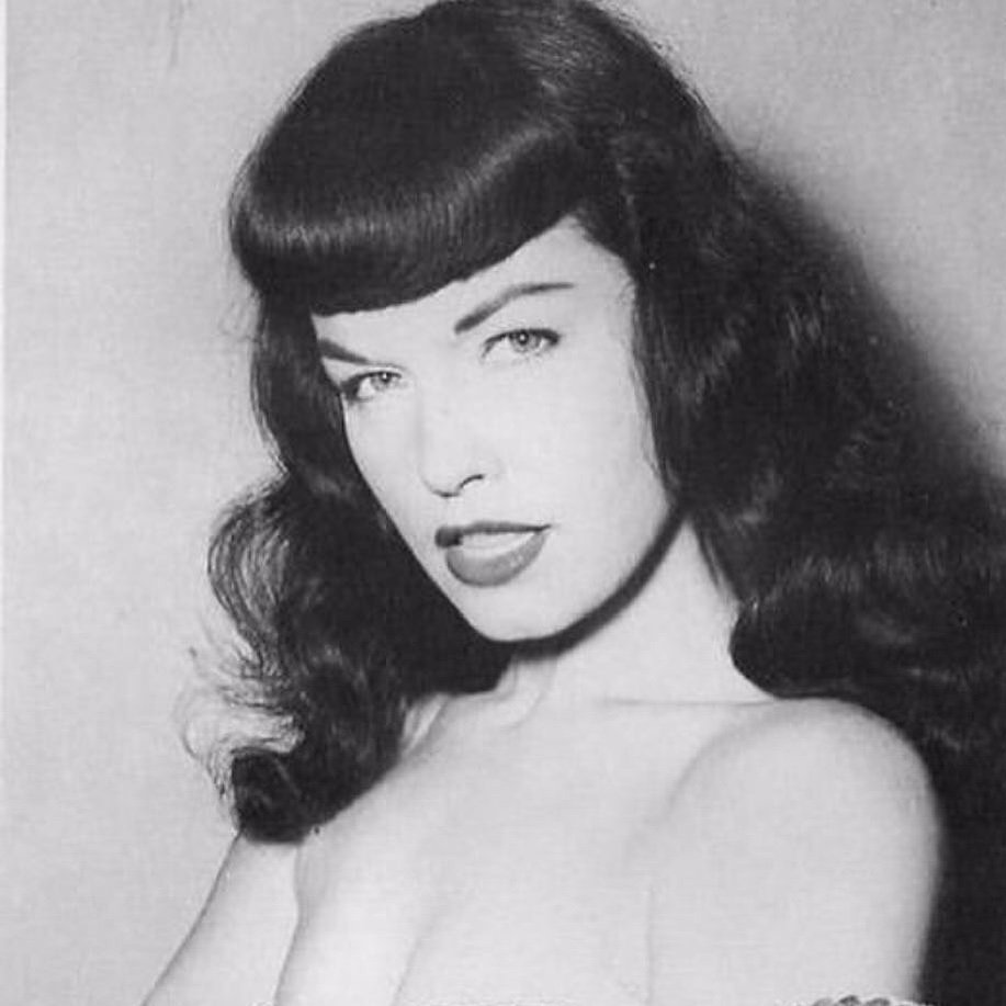 Twitter Bettie Page nude photos 2019