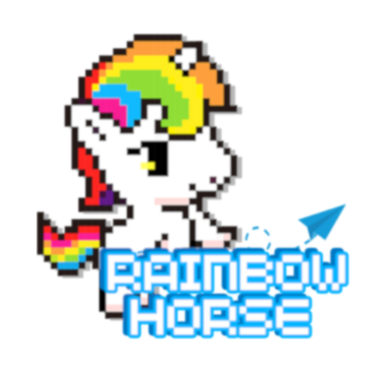 Rainbow Horse on Twitter: