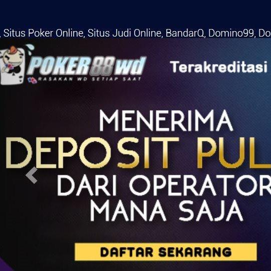 Agen Situs Judi Online Poker Online Domino Qq 99 Agenpokerpulsa Twitter