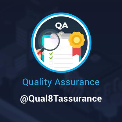 Quality Assurance Forum (@qual8tassurance) Twitter profile photo