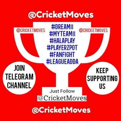 #Dream11 CricketMoves  🎉