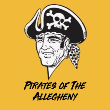 A couple lifelong Pittsburgh Pirates fans. #LetsGoBucs #RaiseIt 🏴☠️