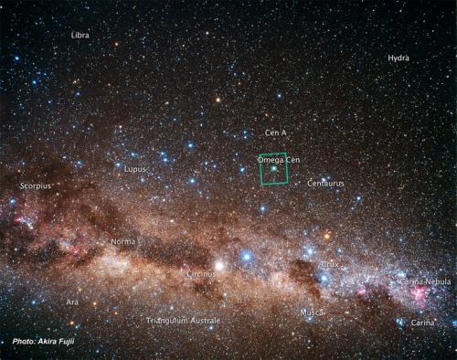 Omega Centauri Hubble