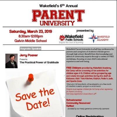 Parent Workshop In Wakefield March 11th >> Wakefield Parent University Parentwakefield Twitter