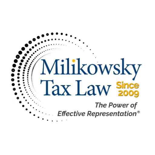 Milikowsky Tax Law