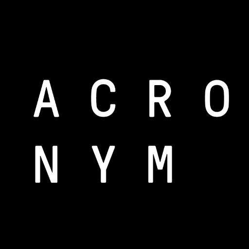 ACRONYM (@anotheracronym)   Twitter