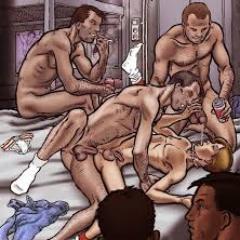orgia gay sala cine xxx