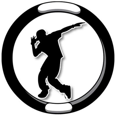 Clipart of a guy hip hop dancing.