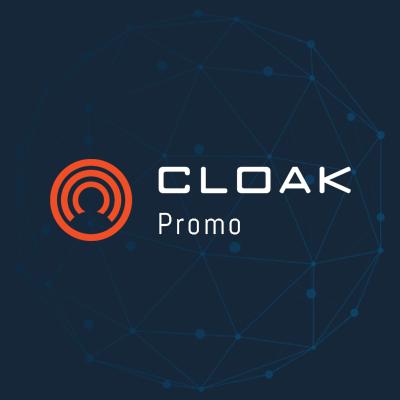 CloakCoin Promo