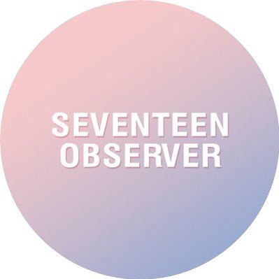 SEVENTEEN OBSERVER on Twitter: