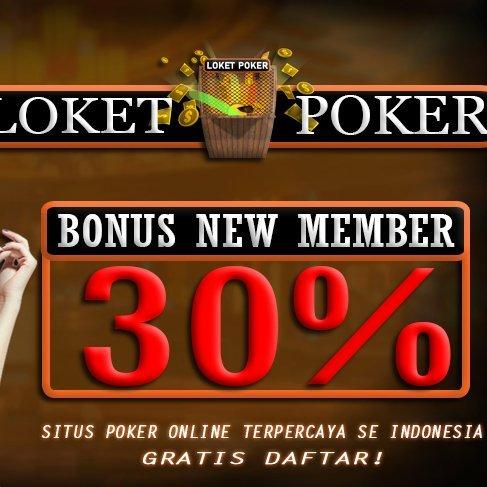 Loket Poker Official Page On Twitter Bonus New Member 30 Max 200rb Bonus Deposit 10 Bonus Cashback 0 5 Bonus Referral 10 Bonus Jackpot Https T Co Srcnmdlf5o Https T Co B7j2g35m0e Https T Co Cacseowj2r Goyangcancel Goyanghot Pilpres