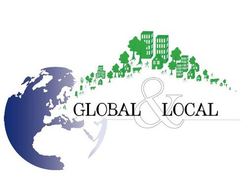 the global and the local in The tetrahedron model of light and conservation law is reformulated as a global-local gauge symmetry model.