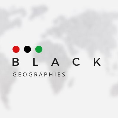 Black Geographies (@BlackGeogs) Twitter profile photo