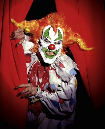 Fear of clowns clownhaters twitter - What is the phobia of small spaces pict ...