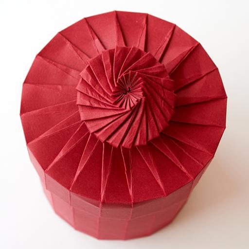 Modular Origami Magic Rose Cube Folding Instructions | 512x512