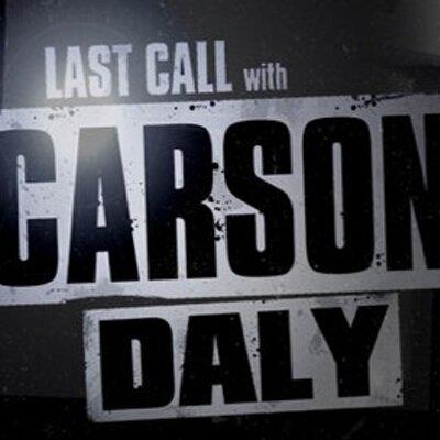 LastCall CarsonDaly (@lastcallcd) Twitter profile photo