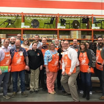 Home Depot 3103 On Twitter Thank You Team For The Privilege Of Being Your Sm Over Last 7 Years At The Beautiful Great Falls Mt Home Depot You All Are Amazing Leaders Continue