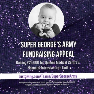 Super George's Army - Fundraising Appeal (@SuperGeorgeArmy) Twitter profile photo