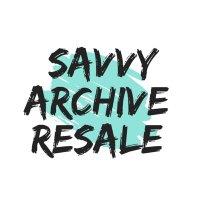 Savvy Archive Resale