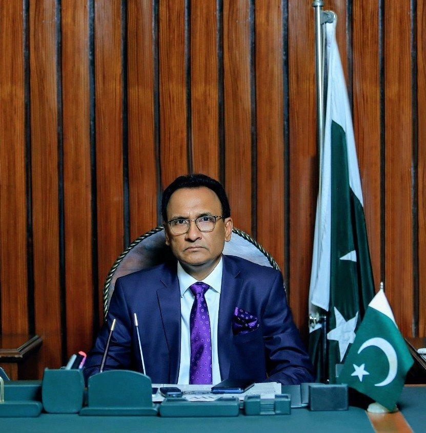 Syed Arshad Hasan Deputy Mayor of Karachi