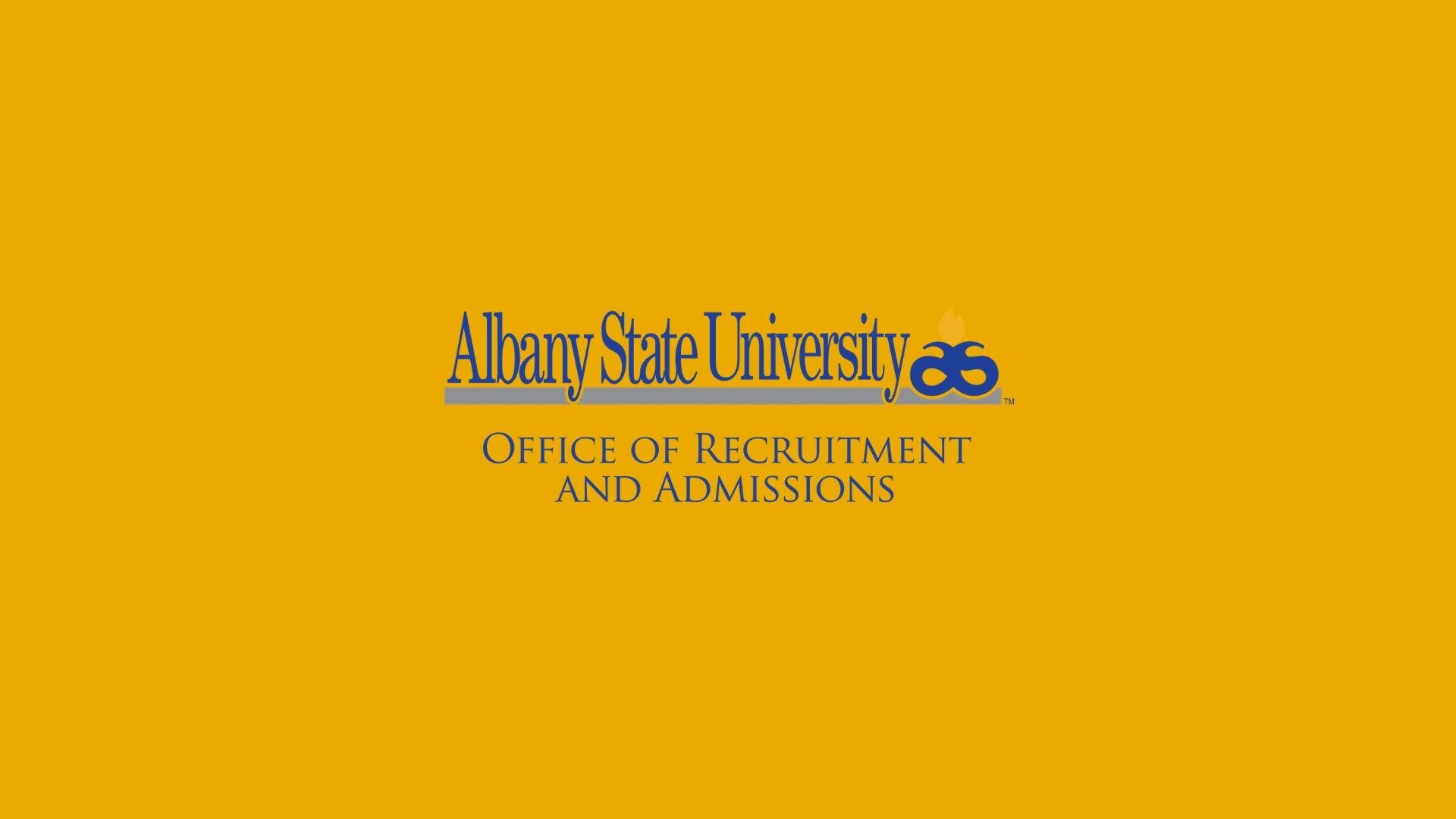 Albany State University: Recruitment & Admissions