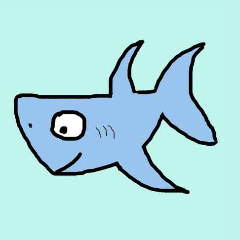 nicky the friendly shark