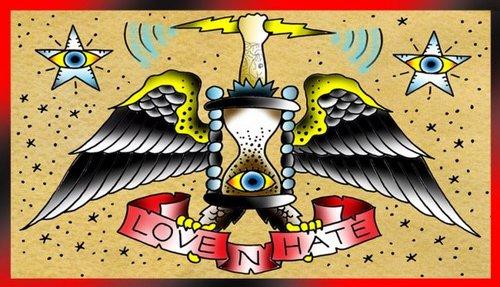 Love n hate tattoo lovenhatetattoo twitter for Love n hate tattoo