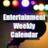 Entertainment Weekly Calendar
