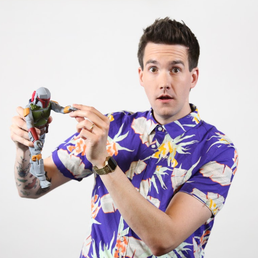 Video host/producer for @IGN, co-founder of @TheComedyButton podcast, toy collector, scale model builder, spicy food eater, Pomeranian dog owner. Tall. He/him.