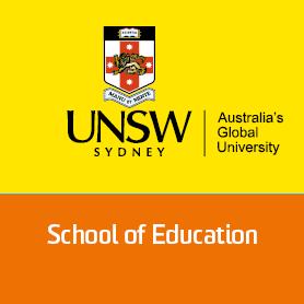 School Of Education, UNSW (@UNSW_ED) Twitter profile photo