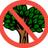 Optyfen met bomen