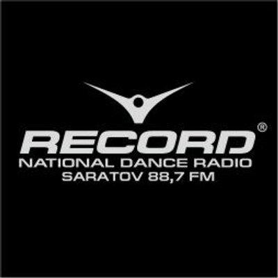 логотип радио рекорд: