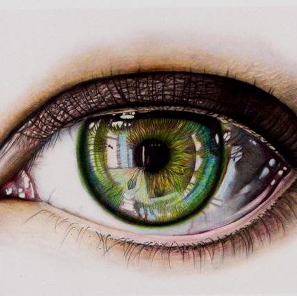 зеленые глаза картинки карандашом подсветка имеет только