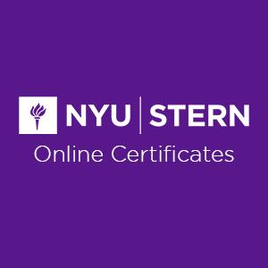 Nyu Stern Online Certificates Nyusternonline Twitter