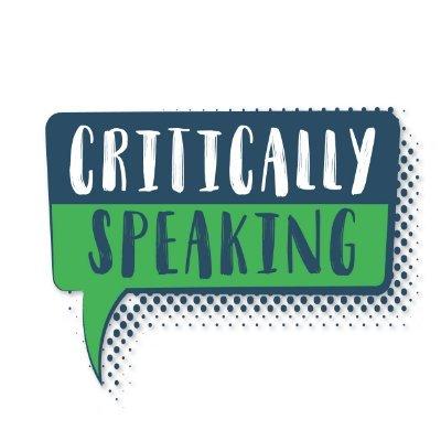 Critically Speaking (@Critic_Speak) Twitter profile photo