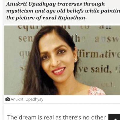 AnukrtiUpadhyay (@anukrti_U) Twitter profile photo