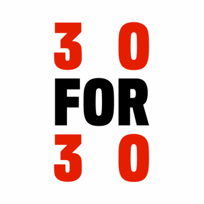 30 for 30 (@30for30) Twitter profile photo