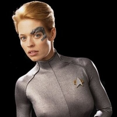 Seven of nine hot photos