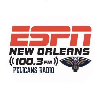 FLAGSHIP station of @PelicansNBA Weekday home of @OTB_ESPN, The Sports Hangover w/ @Gkatt_17, After Further Review w/ @MattMoscona ☎️ 800-998-1003