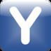 MyU2B logo - a blue capital letter Y