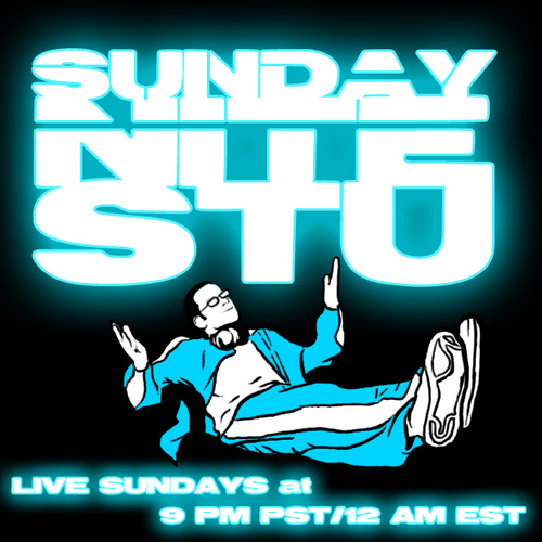 The Sunday Nite Stu is the 1st and longest running show of its kind. With amazing guests & taking your phone calls LIVE LIVE LIVE™ every Sunday night at 9pm PST