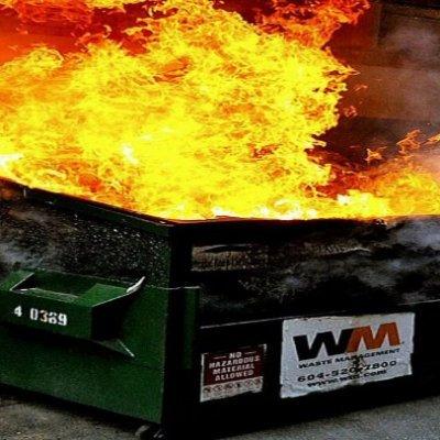 Handsome Dumpster Fire