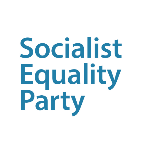 Socialist Equality Party, Australian section of the International Committee of the Fourth International https://t.co/rAlFD3cjb1