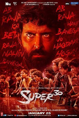 Watch Super 30 (Online) for Free 123Movies (@super30_Full