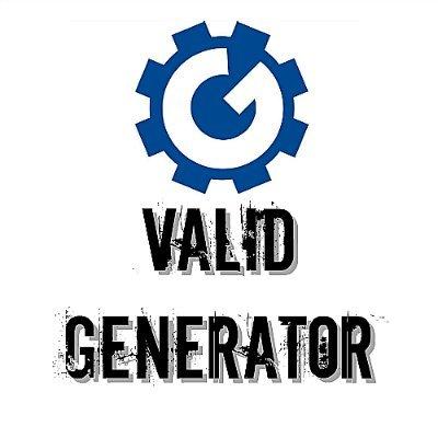 Valid Generator (@GeneratorValid) | Twitter