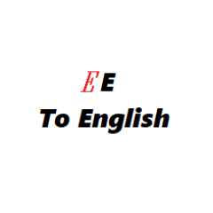 EE to English Converter