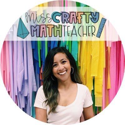 misscraftymathteacher (@misscraftymath) Twitter profile photo