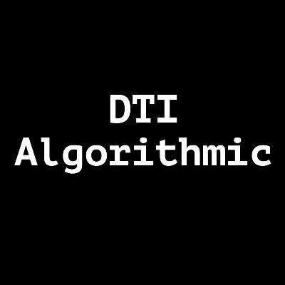 DTI Algorithmic Logo