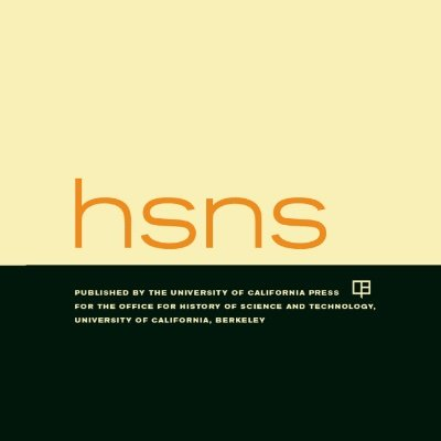 historical studies in the natural sciences on twitter and